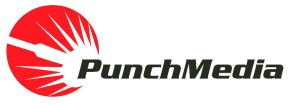 Logo Punch Media